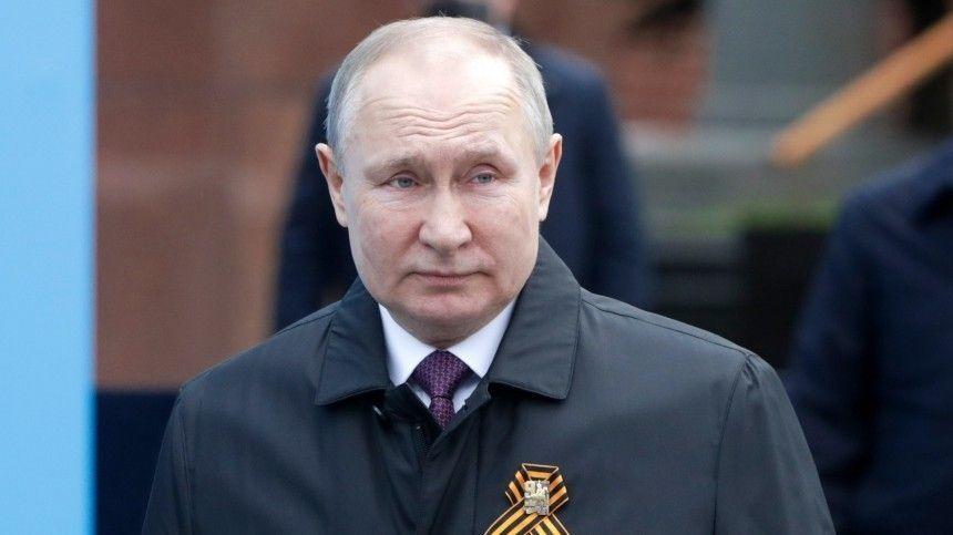 Президент поздравил россиян с9Мая.