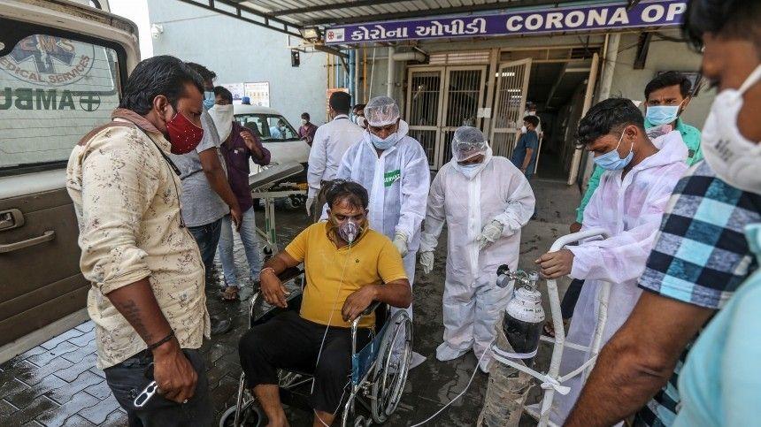 Ранее страна вышла навторое место вмире почислу выявленных случаев COVID-19.