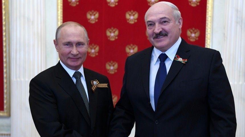 Лидеры обеих стран подтвердили настрой наукрепление партнерских российско-белорусских отношений.