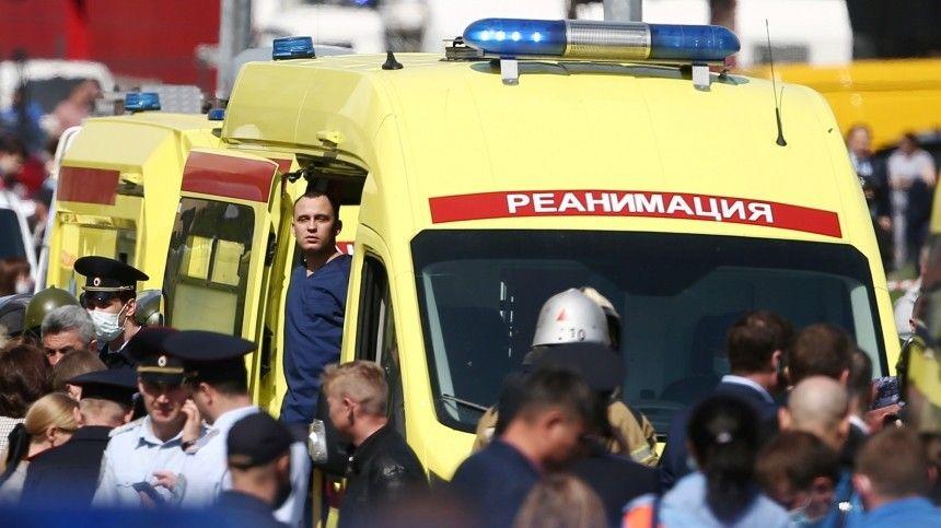 Среди пострадавших множество детей согнестрельными ранениями.