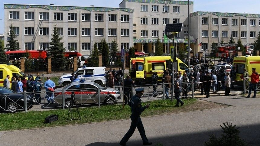 При перестрелке вобразовательной организации погибли девять человек. Еще 21— ранены.