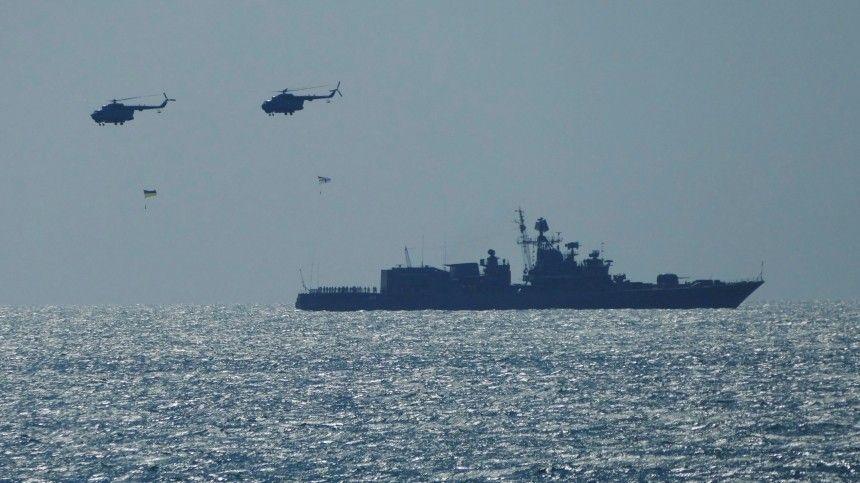 Пословам Руслана Хомчака, РФпровоцирует Украину вЧерном иАзовском морях.