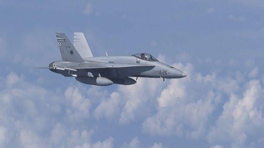 Движущиеся воздушные цели направлялись всторону государственной границыРФ.