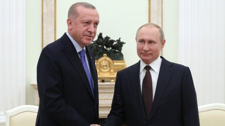 Вместе сПутиным Реджеп Эрдоган также обсудил обострение ситуации вВосточном Иерусалиме