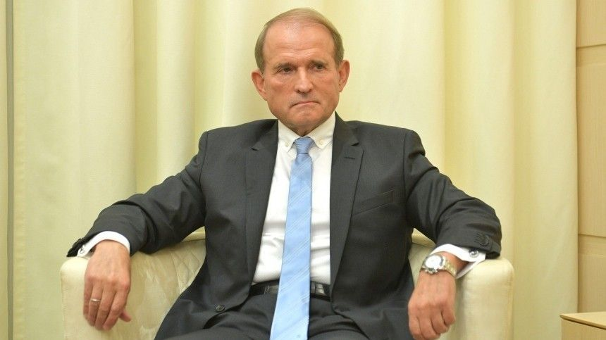 Лидера украинской партии «Оппозиционная платформа— Зажизнь» обвиняют постатьям о«Госизмене» и«Нарушении обычаев войны»