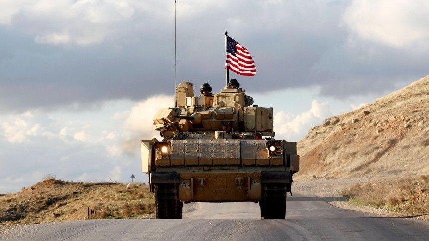 Бойцы ВСРФостановили проход американцев потрассе М-4 впровинции Хасеке.
