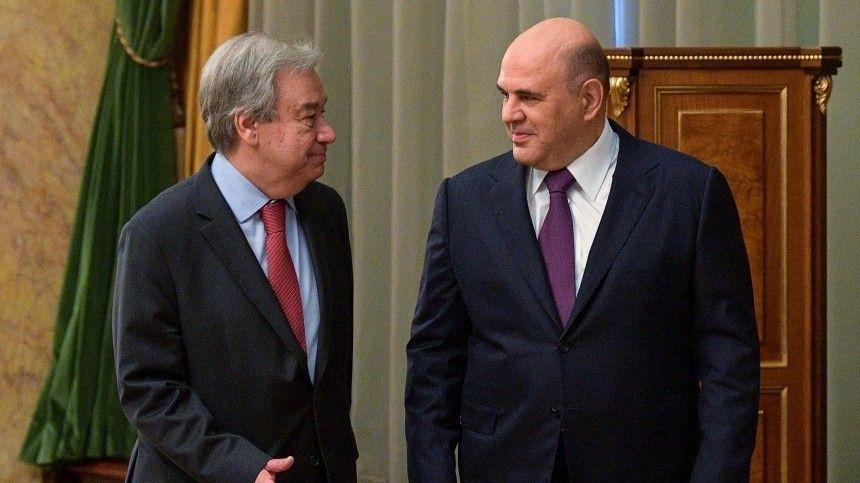 Пословам премьер-министра, Россия ивпредь будет поддерживать организацию идобиваться повышения ееавторитета вмире.
