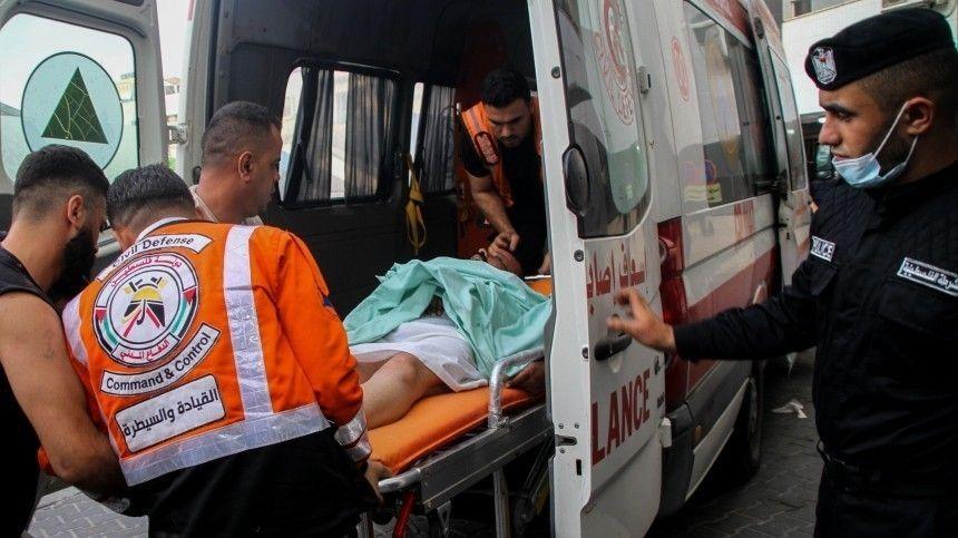 Впосольстве РФвИзраиле рассказали, что среди пострадавших нет россиян.