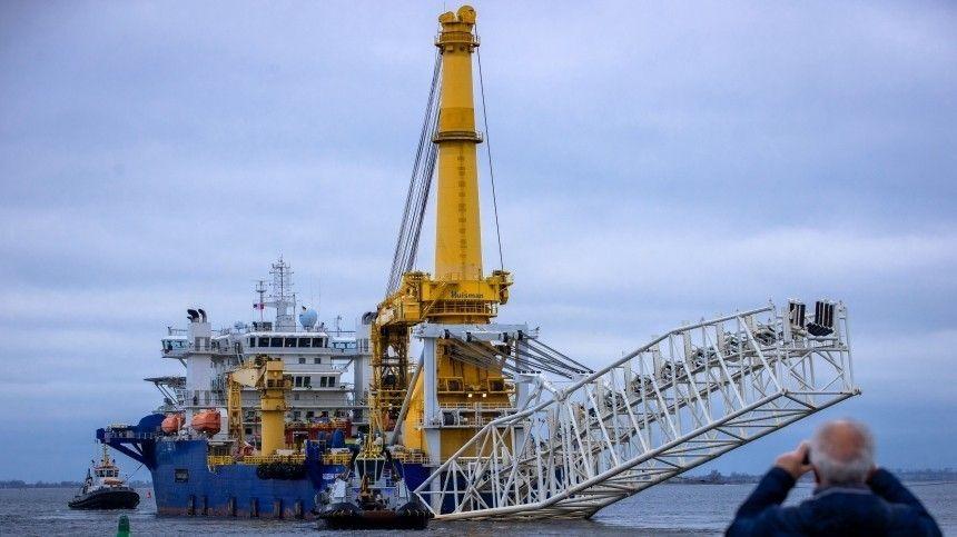 Строительство Северного потока-2 может завершиться в течение года