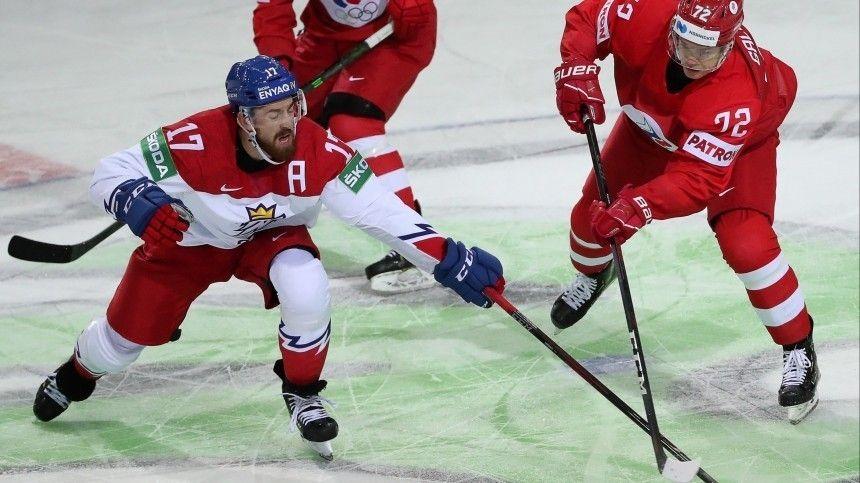 Россия обыграла Чехию в первом матче Чемпионата мира по хоккею в Риге  4:3