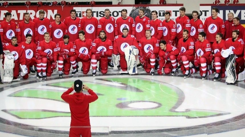 Сборная России разгромила команду Британии на ЧМ по хоккею в Риге  7:1