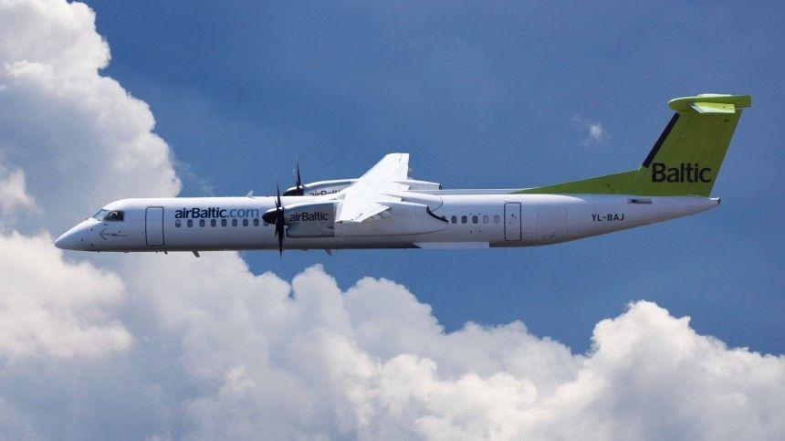 Air Baltic не будет летать над Белоруссией из-за угрозы безопасности