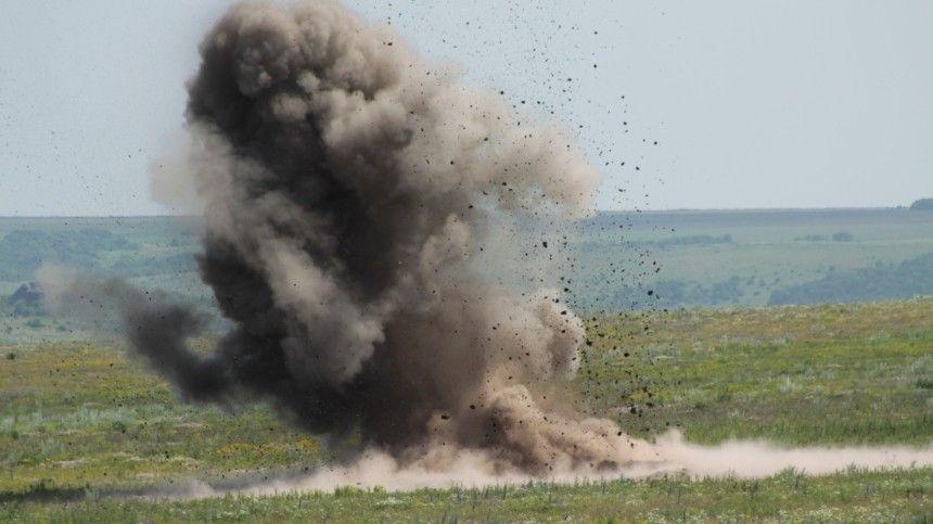 В Крыму эффектно уничтожили 37 бомб времен Великой Отечественной войны