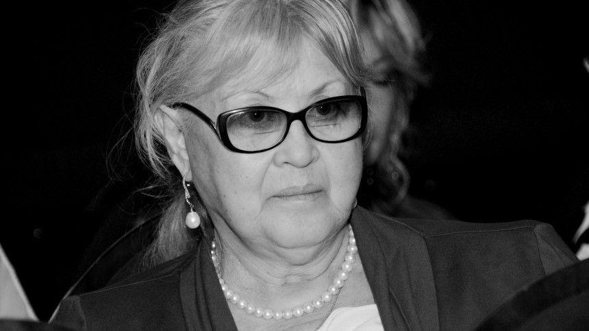 Актриса скончалась на82-году жизни 23мая.