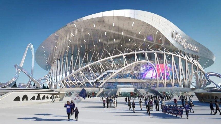 Видео: как будет выглядеть СКА Арена в Петербурге