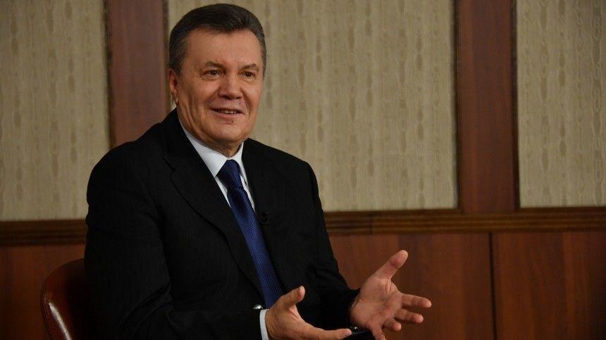 Санкции против экс-президента Украины действовали сначала 2014 года из-за обвинений вхищении госсредств.