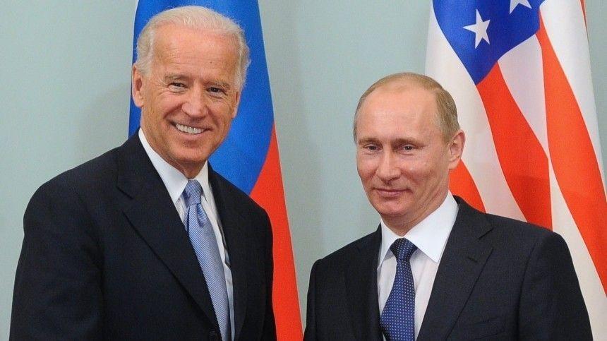 Журнал Time выпустил обложку с Путиным в глазах Байдена
