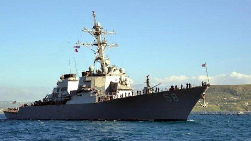 Ранее шестой оперативный флот США сообщил, что корабль идет вЧерное море для проведения операций пообеспечению «морской безопасности врегионе».