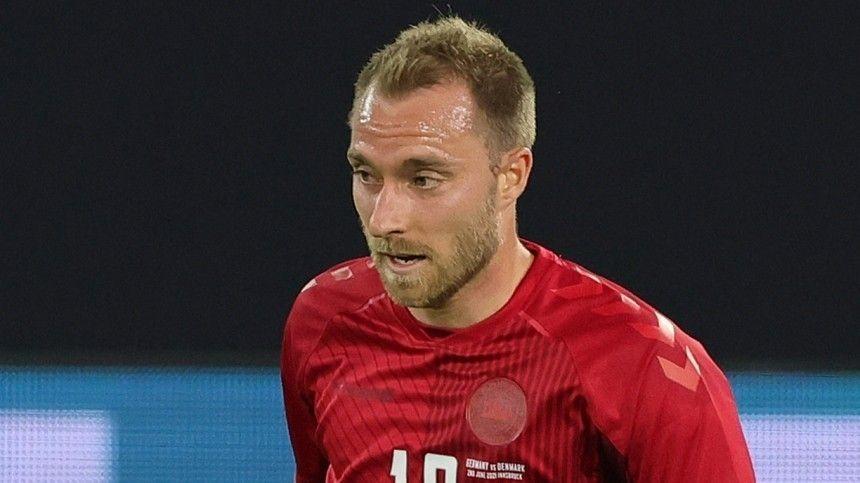 После того, как Кристиан Эриксен рухнул наполе, матч чемпионата Европы между Данией иФинляндией приостановили.