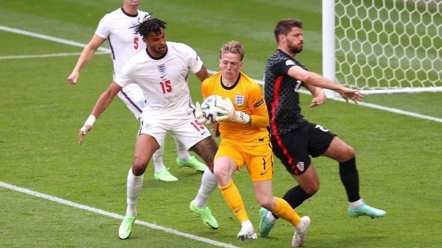 Сборная Англии обыграла Хорватию в стартовом матче Евро-2020