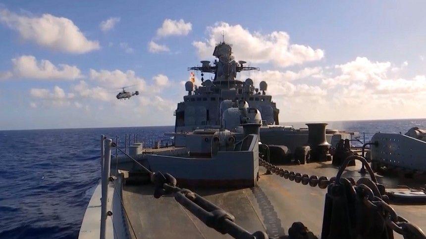 Невероятные кадры масштабных учений кораблей и авиации ВС РФ в Тихом океане