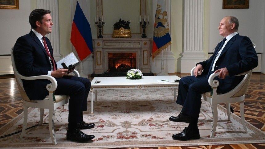 Подобные интервью— традиционная часть информационной подготовки ксаммитам навысшем уровне, иВладимир Путин неотказал американцам ввозможности заранее узнать отемах беседы сДжо Байденом.