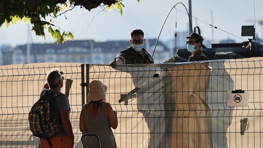 Снайперы заняли свои места по всей Женеве перед встречей Путина и Байдена