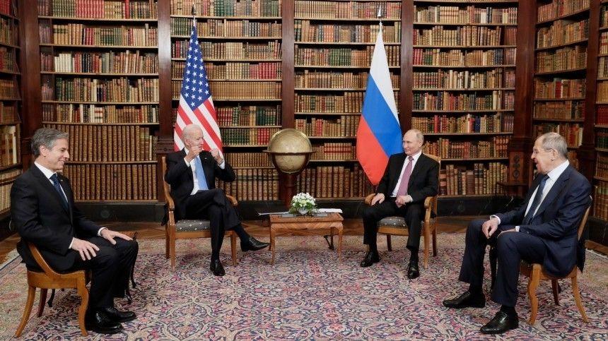 Лидеры двух держав встретились для переговоров вЖеневе.