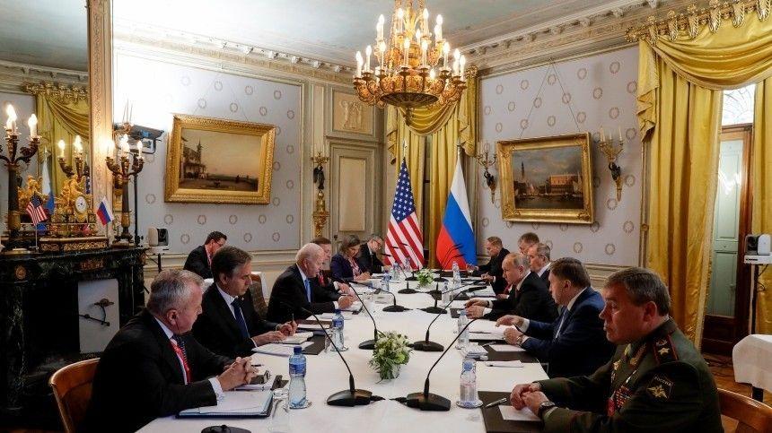 МИД РФиГосдеп США начнут работу вэтом направлении, заявил президент России поитогам встречи вЖеневе.