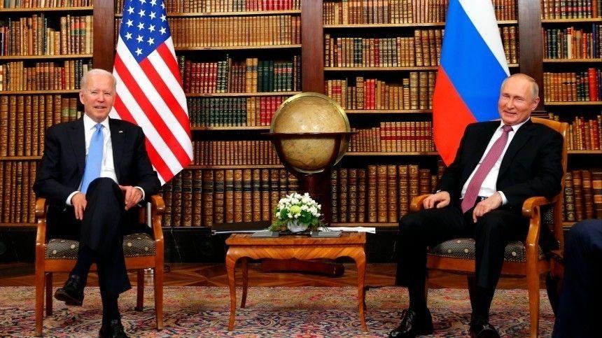 Ничего личного, просто политика: в США не верят в дружбу Путина и Байдена