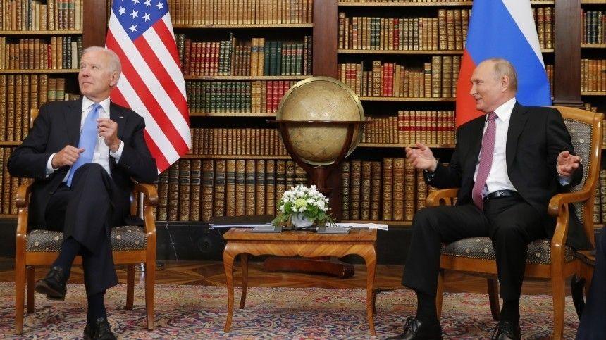 Встреча глав двух держав состоялась вЖеневе 16июня.