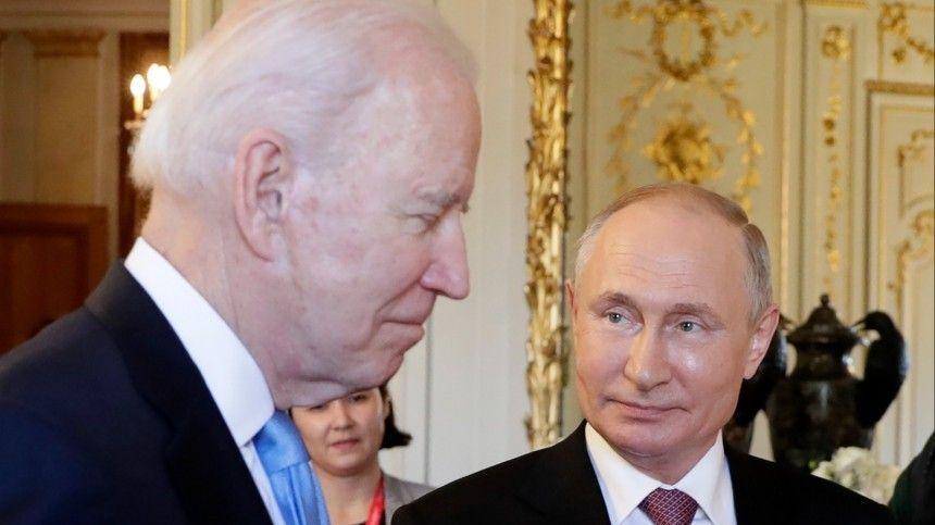 Лидеры России иСША провели переговоры вЖеневе 16июня.