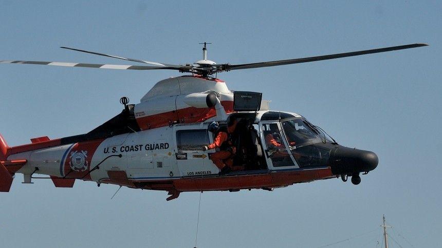 Береговая охрана внастоящий момент занимается поиском исчезнувшего срадаров летательного аппарата.