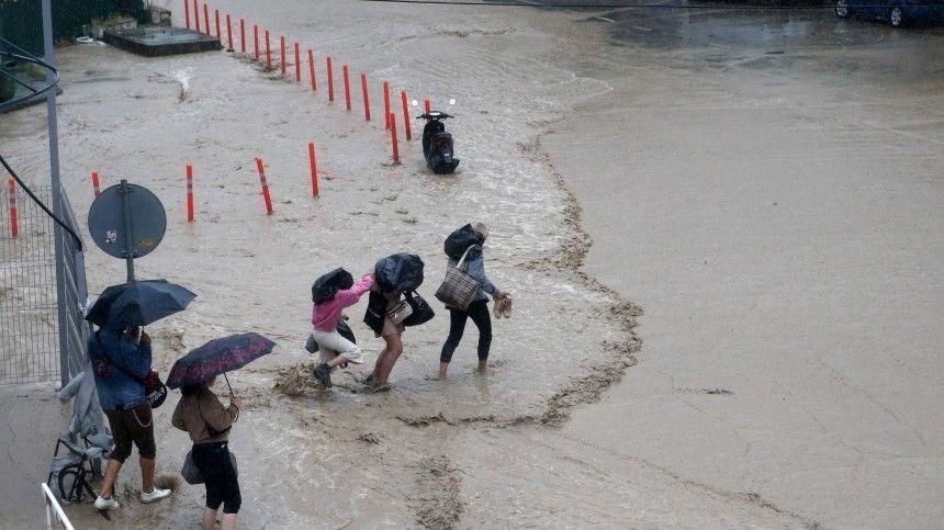 Один человек погиб в результате подтоплений в Ялте