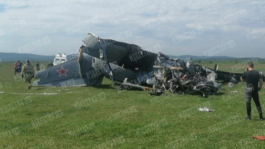 Авиакатастрофа произошла 19июня. Наборту воздушного судна находились спортсмены-парашютисты.