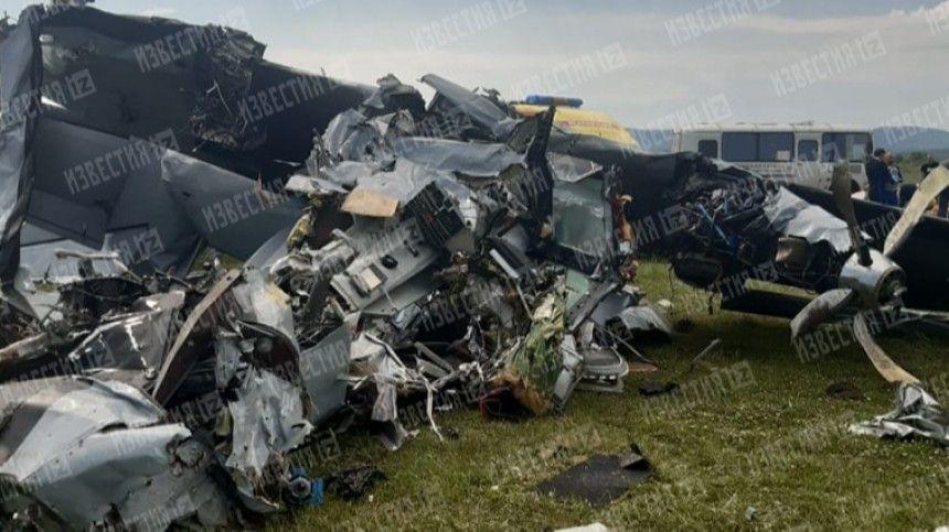 Попредварительным данным, причиной жесткой посадки самолета стал отказ двигателя.