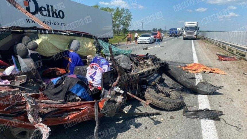Страшная авария произошла натрассе вреспублике Башкортостан.