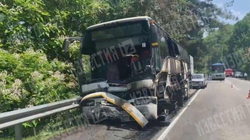 Список пострадавших детей в ДТП с двумя автобусами на Кубани