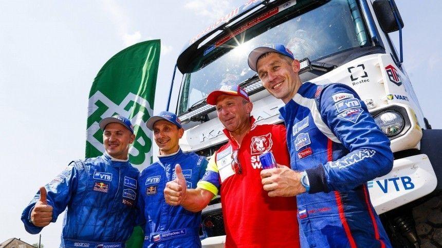 Экипаж КАМАЗ-мастера выиграл ралли Шелковый путь в категории грузовиков