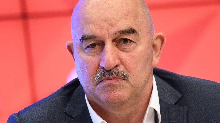 Черчесов покинул пост главного тренера сборной России по футболу