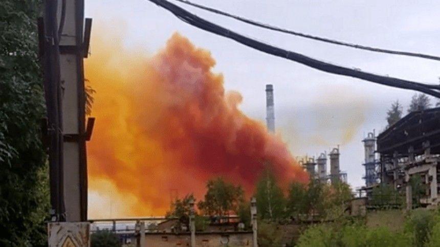 Накануне нахимпредприятии вРовенской области произошел выброс ватмосферу нитрозных газов.