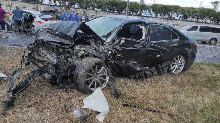 Врезультате аварии пострадали пять человек, втом числе ребенок.