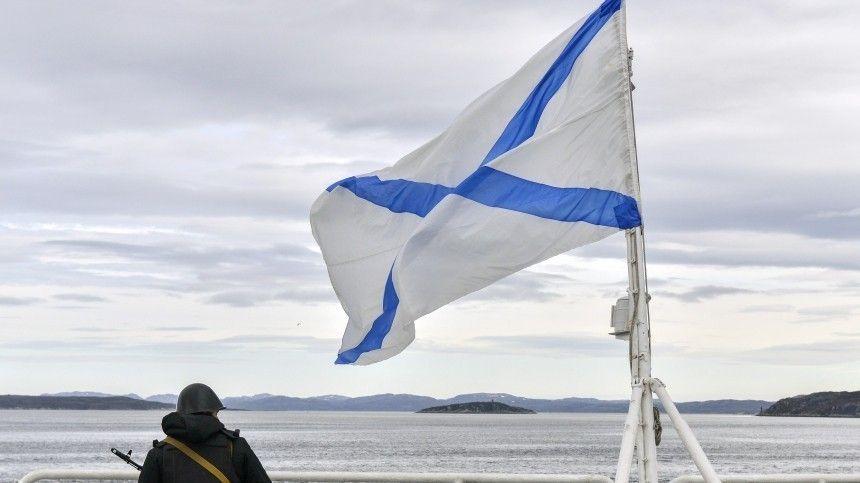 Президент подписал указ остатусе ивнешнем виде полотнищ морских знамен.