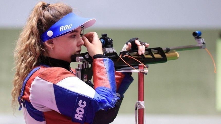 Галашина завоевала первую медаль для российских спортсменов на Олимпиаде