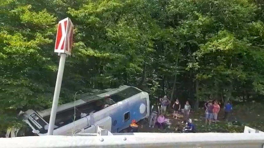 Врезультате аварии погибли два человека. Обстоятельства ипричины ЧПуточняются.