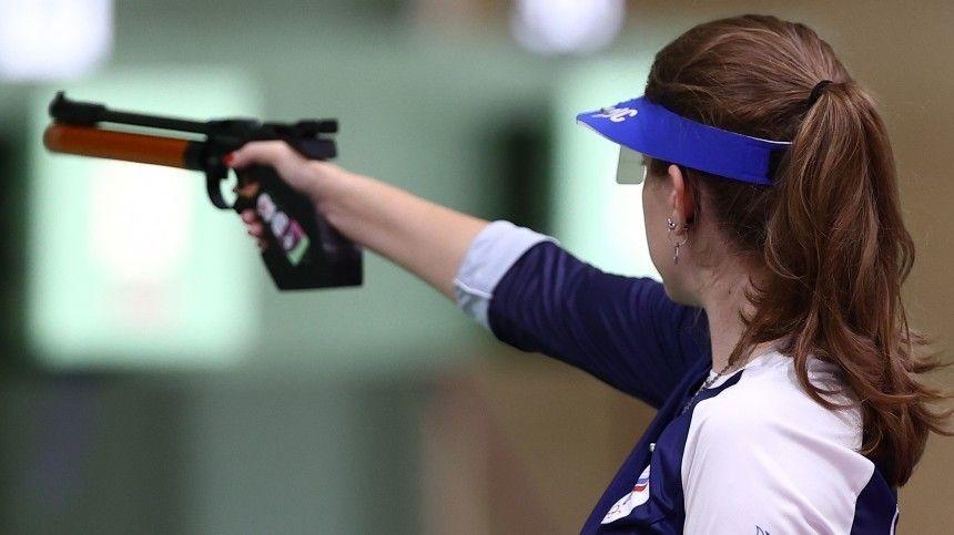 Спортсменка вфинале соревнования установила олимпийский рекорд поколичеству баллов.