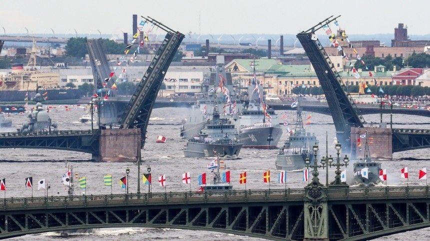 25июля состоялся праздник всех российских моряков, накотором РФпродемонстрировала всю мощь отечественного флота.