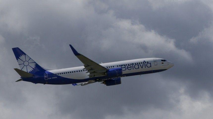Экипаж минского самолета сообщил оросте температуры масла вдвигателе.