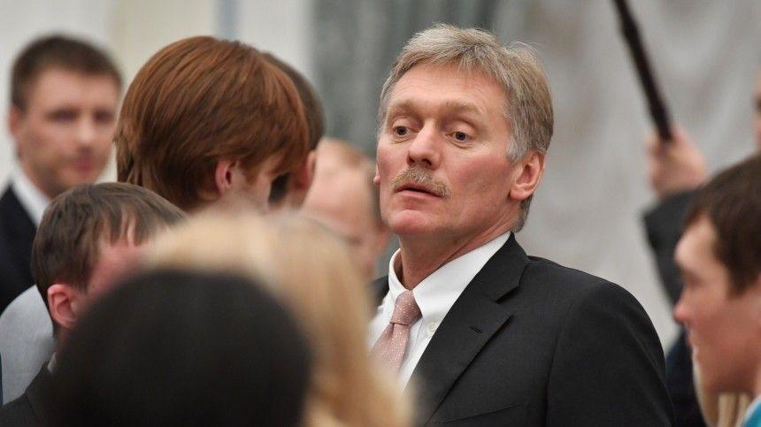 Пословам пресс-секретаря президента РФ, интенсивность карантинных мер зависит отситуации ичеловека.