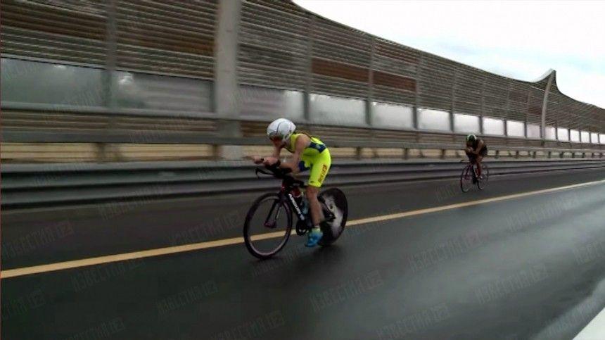 Легенда Ironman поблагодарил Путина после «железной» гонки вПетербурге